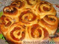 Фото к рецепту: Пирог с абрикосовым вареньем
