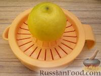 Фото приготовления рецепта: Салат из креветок и семги - шаг №5