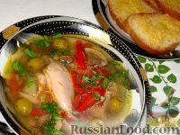 Фото к рецепту: Куриная похлебка по-черногорски