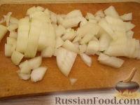 Фото приготовления рецепта: Быстрый пирог с капустой - шаг №4