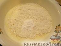 Фото приготовления рецепта: Быстрый пирог с капустой - шаг №9