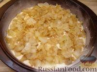 Фото приготовления рецепта: Быстрый пирог с капустой - шаг №15