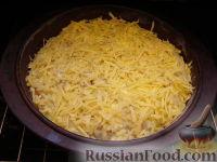 Фото приготовления рецепта: Быстрый пирог с капустой - шаг №16