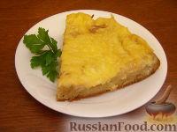 Фото приготовления рецепта: Быстрый пирог с капустой - шаг №18