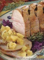 Фото к рецепту: Свиная корейка, приготовленная на гриле