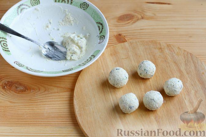 Фото приготовления рецепта: Итальянское печенье из миндальной муки - шаг №5