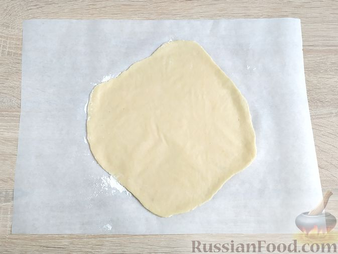 Фото приготовления рецепта: Лимонный пирог на гречневой муке - шаг №13