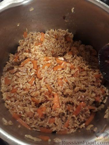Фото приготовления рецепта: Сметанные лепёшки из дрожжевого теста (в духовке) - шаг №13