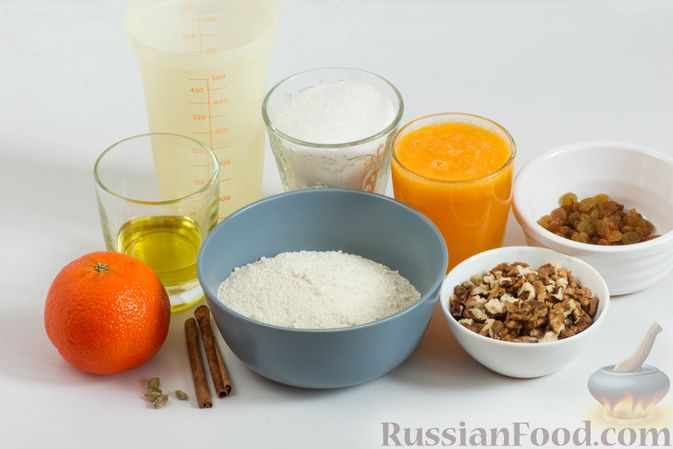 Фото приготовления рецепта: Мандариновая халва из манки - шаг №1
