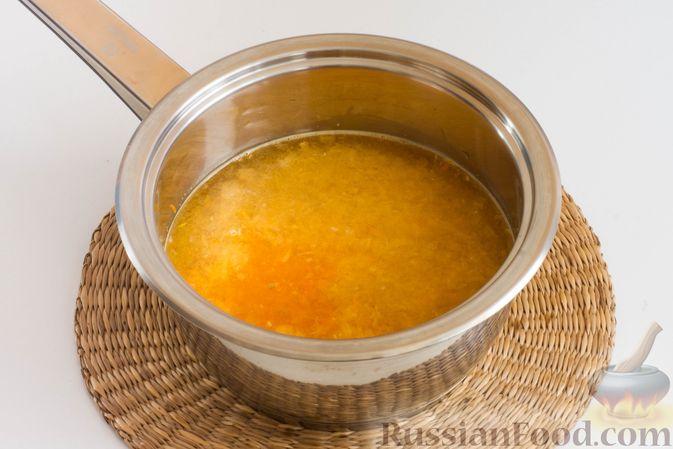 Фото приготовления рецепта: Мандариновая халва из манки - шаг №2