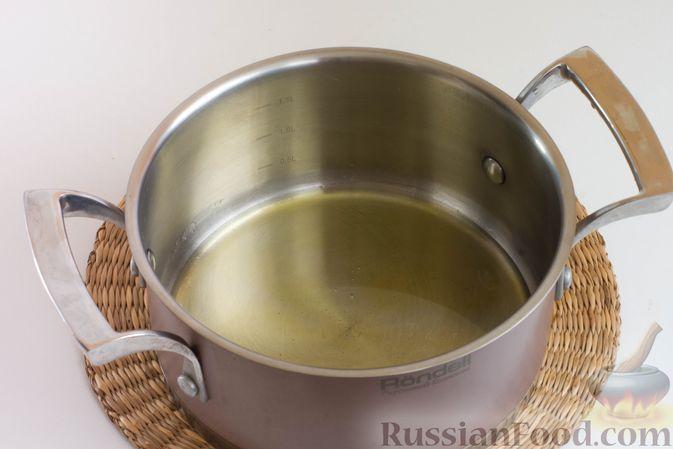 Фото приготовления рецепта: Мандариновая халва из манки - шаг №4