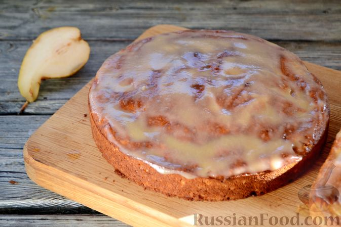 Фото приготовления рецепта: Десерт из манной крупы с имбирём и лимоном - шаг №10