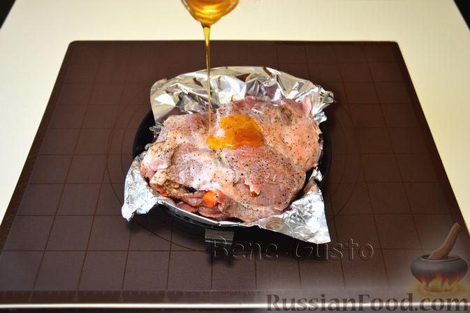 Фото приготовления рецепта: Песочное печенье из жареной муки - шаг №9