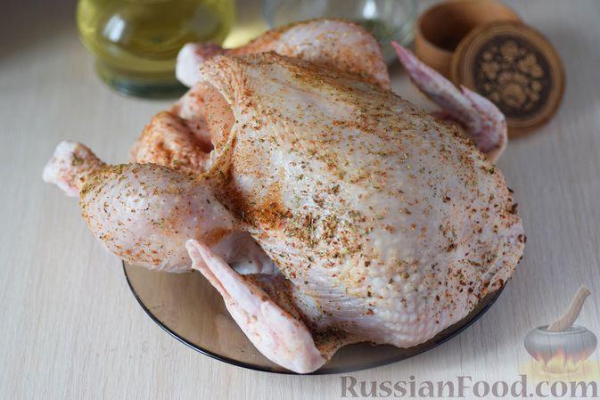 Фото приготовления рецепта: Щи с курицей и капустой - шаг №11