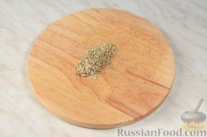 Фото приготовления рецепта: Картошка с мясным фаршем и сыром, в микроволновке - шаг №6