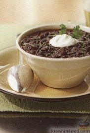 Рецепт Фасолевый суп, приготовленный в медленноварке