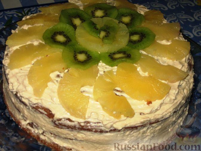 Фото приготовления рецепта: Воскресный торт - шаг №7