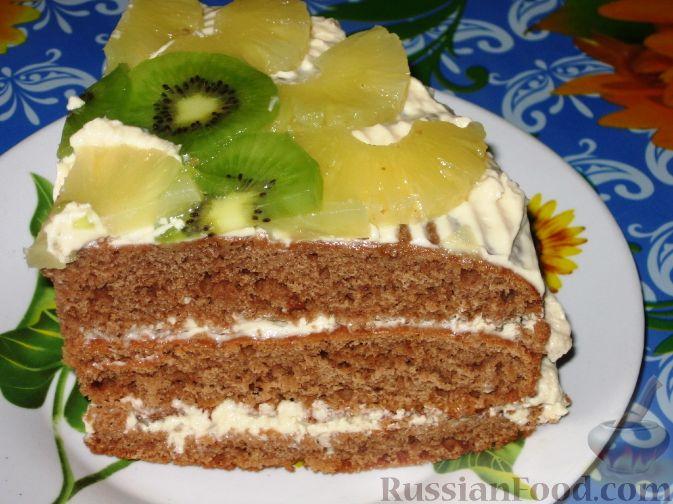Фото приготовления рецепта: Воскресный торт - шаг №8