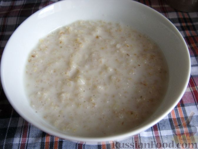 ячневая каша на молоке рецепт на плите фото