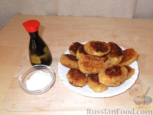 Рецепт Котлеты из кабачков и картофеля