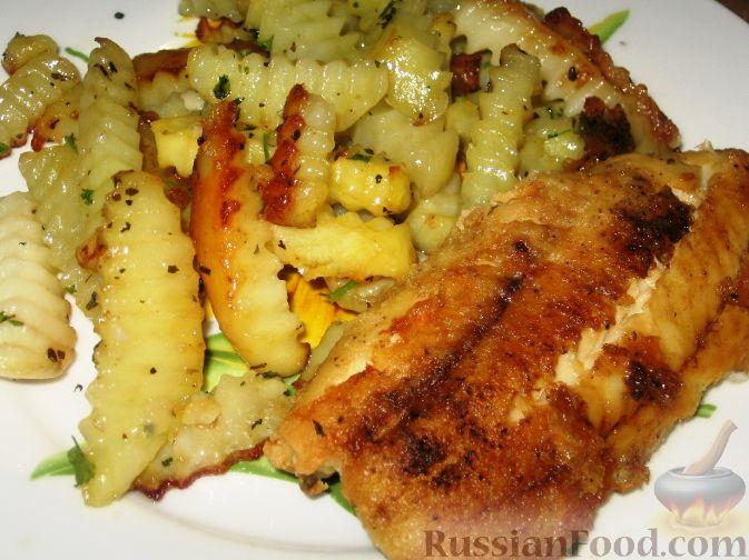 Рыба с картошкой пошаговый рецепт