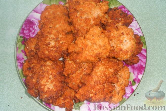 Фото приготовления рецепта: Террин из куриных сердечек и манной крупы - шаг №6