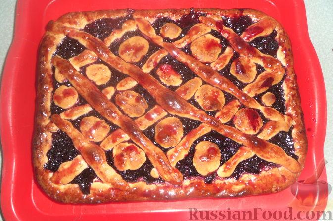 Рецепт Быстрый ягодный пирог
