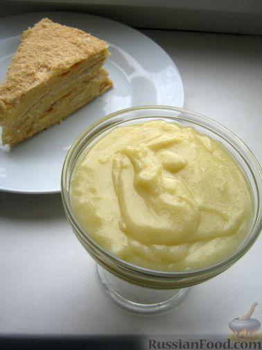 наполеона Рецепт крема заварного для