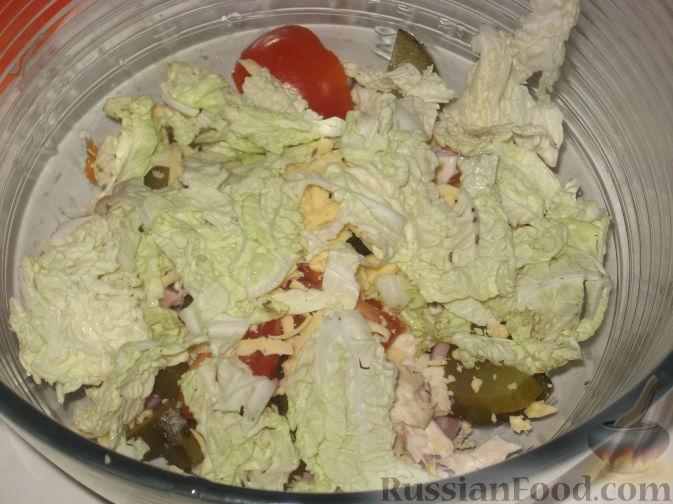 салат мясной фото и рецепт с фото