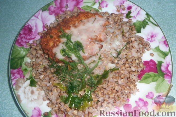 Рецепт Оладьи из горбуши