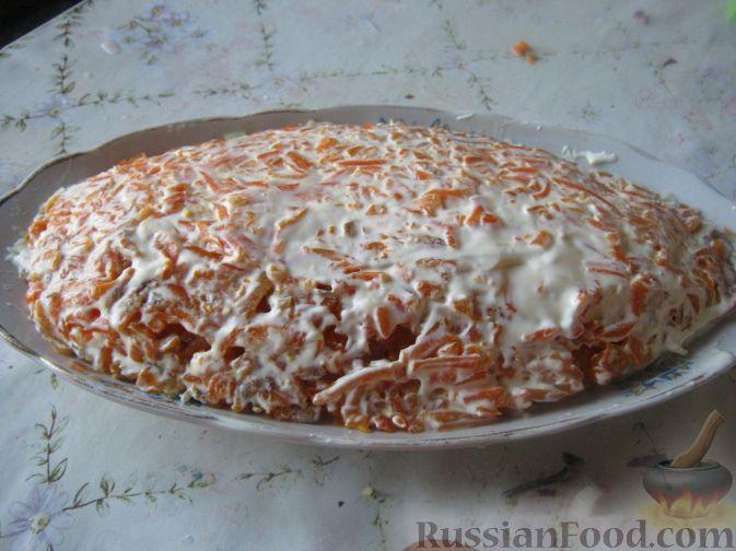 салат шуба пошаговый рецепт с яблоком