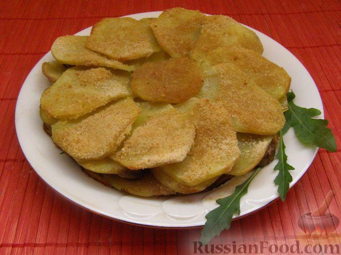 Рецепт Картофельная запеканка по-монастырски