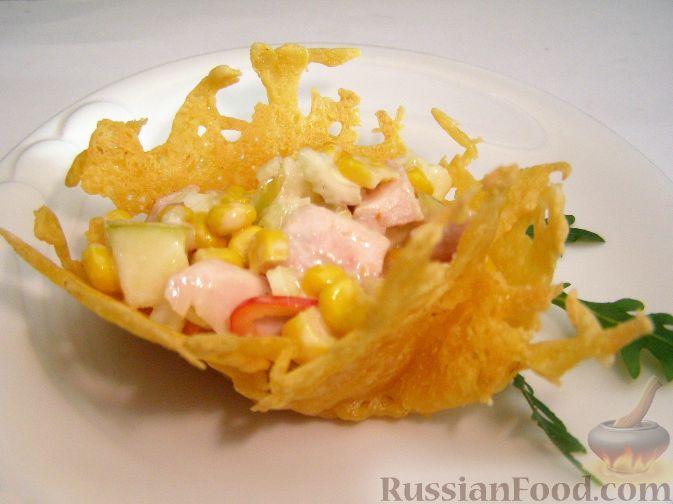 Сырные тарталетки рецепты с фото