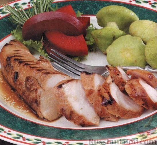 Рецепт Индюшиное филе на гриле