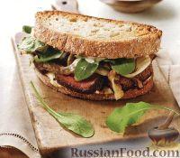 Фото к рецепту: Сэндвич с мясом и фенхелем