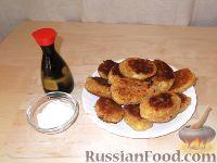 Фото к рецепту: Котлеты из кабачков и картофеля