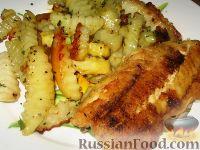 Фото к рецепту: Рыба с картофелем
