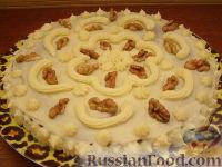 Фото приготовления рецепта: Шоколадный торт (на кефире) - шаг №9