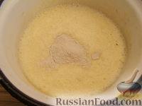Фото приготовления рецепта: Масляно-заварной крем - шаг №4
