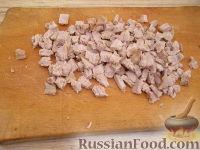 """Фото приготовления рецепта: Салат """"Мужской каприз"""" - шаг №6"""