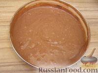 Фото приготовления рецепта: Шоколадный торт (на кефире) - шаг №5