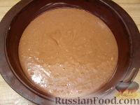 Фото приготовления рецепта: Шоколадный торт (на кефире) - шаг №7