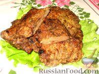 Фото приготовления рецепта: Печеночные отбивные - шаг №4