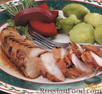 Фото к рецепту: Индюшиное филе на гриле