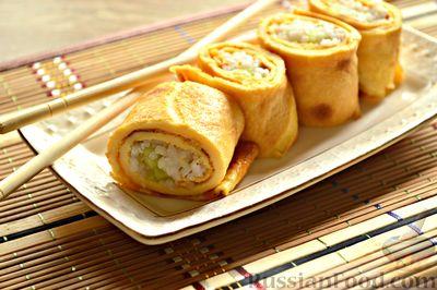 Фото приготовления рецепта: Тушёная капуста с шампиньонами и сладким перцем - шаг №8