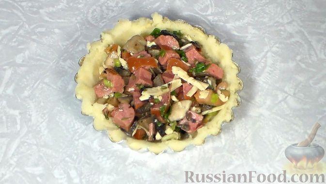 Фото приготовления рецепта: Песочное печенье из жареной муки - шаг №2