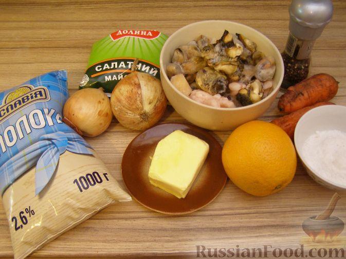 морской коктейль рецепты с фото