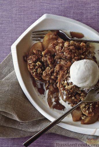 Рецепт Яблочно-ореховый десерт