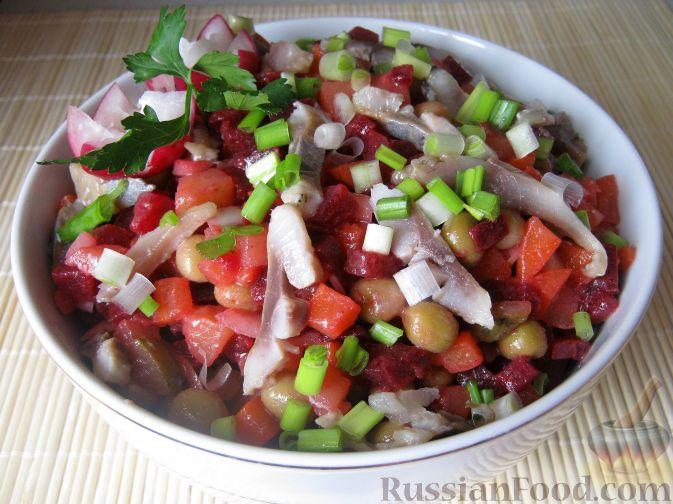 салат винегрет рецепт фото простой