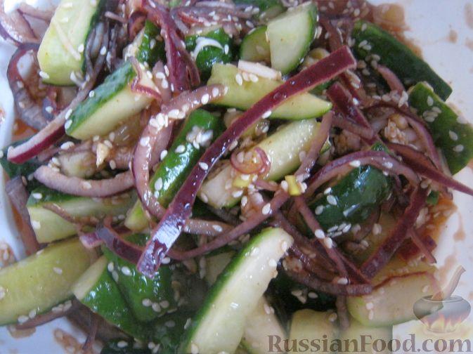 Рецепт Огурчики по-корейски